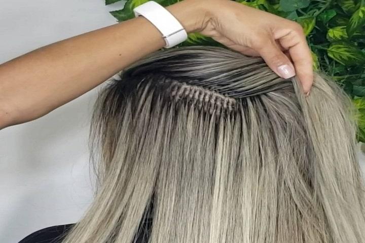 Mega Hair Cápsula de Queratina - Salão de Beleza Instituto Yani